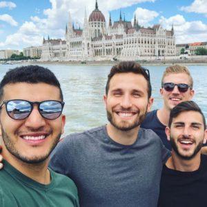 Yes Theory Budapesten (Instagram)